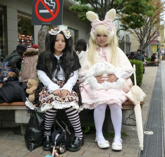 Young Lolitas in Osaka, November 2011