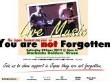Charity Gig: You Are Not Forgotten