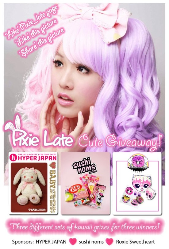 Pixie Late Cute Giveaway