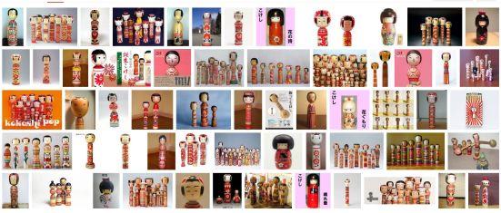 Kokeshi - Google images