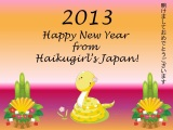 Happy New Year from Haikugirl's Japan!