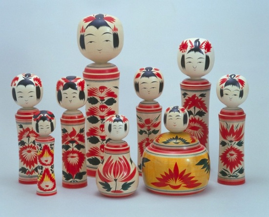 Naruko Kokeshi Dolls © JNTO