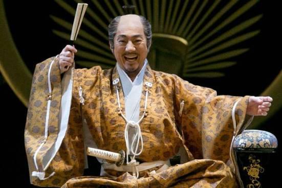 Masachika Ichimura as Ieyasu Tokugawa (Picture: Joel Ryan/Invision/AP)
