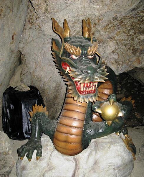 Iwaya Caves - dragon