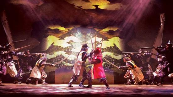 A scene from Anjin: The Shogun and the English Samurai