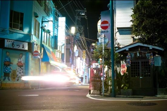 Shimokitazawa at night