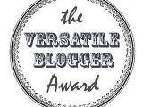Versatile Blogger Awardx3!
