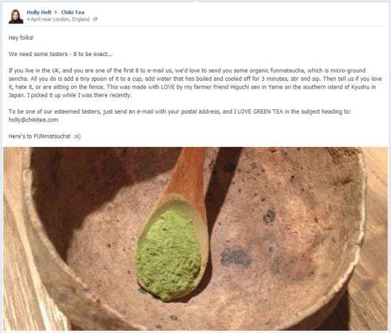 Chiki Tea Facebook