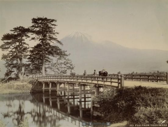 Fuji from Yoshiwara