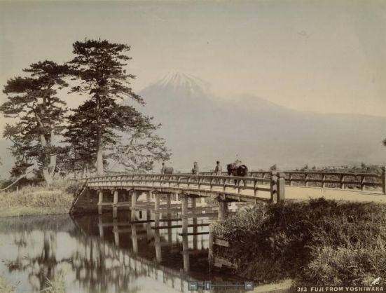 Fuji from Yoshiwara