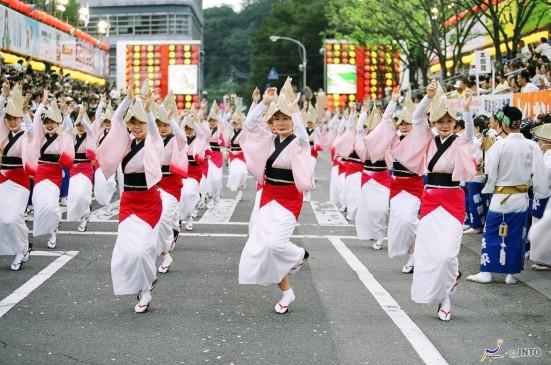 Awa Dance Festival ©JNTO