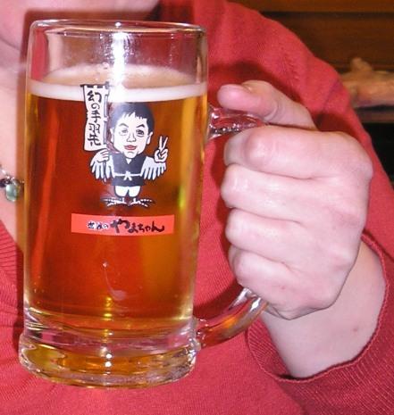 Beer at Yamachan