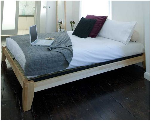 Twilight Birch Double Bed from the Futon Company