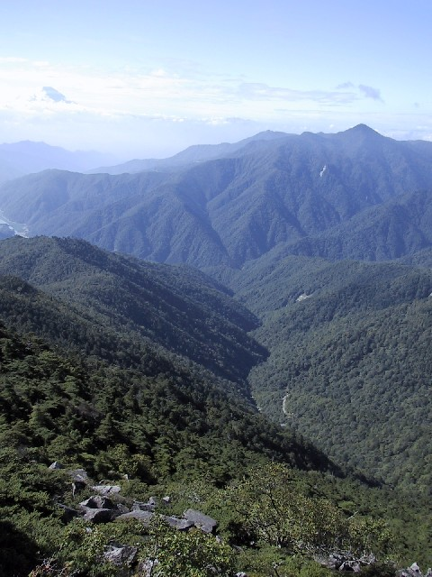 Oku-Chichibu ('interior Chichibu') Mountains
