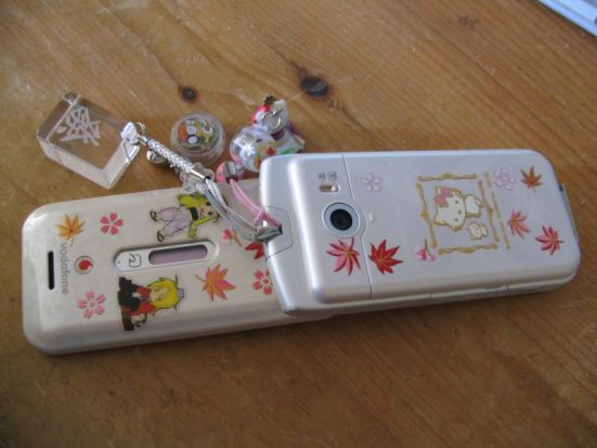 Phone charms in Japan