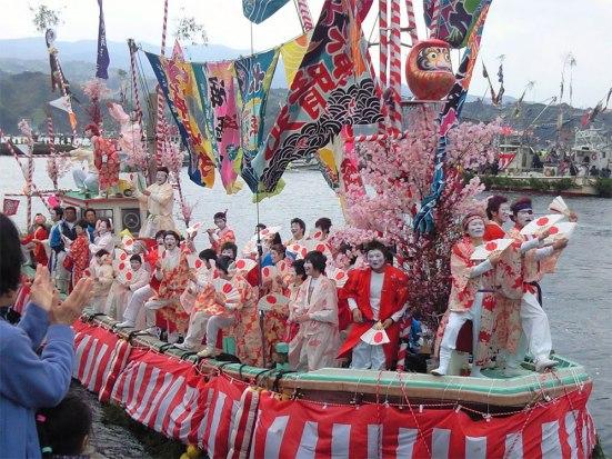 Ose Festival at Uchiura fishing port, Numazu