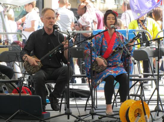Folk music at Okinawa Day 2012