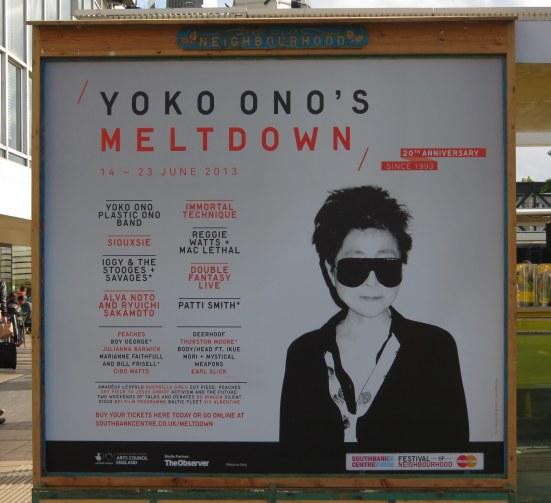 Yoko Ono's Meltdown