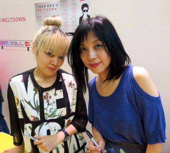 Miho Hatori & Yuka Honda of Cibo Matto