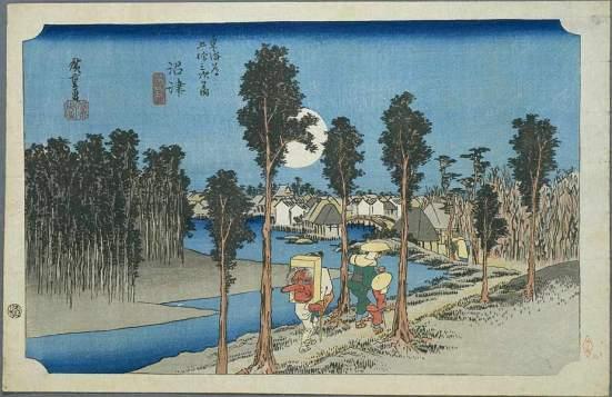 Numazu by Hiroshige