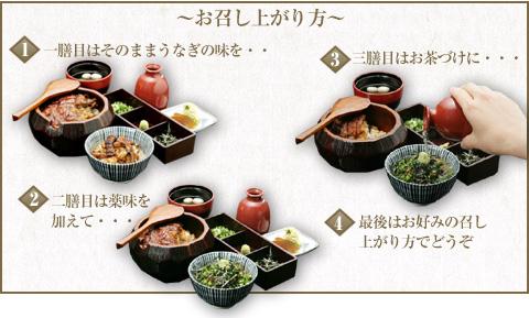 How to eat hitsumabushi