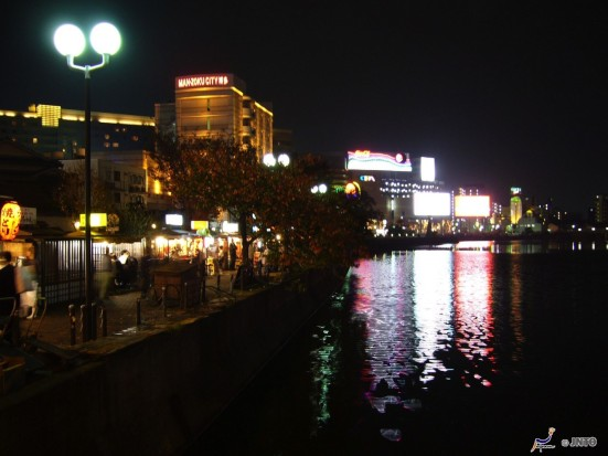 Night scenery along Nakagawa river © Y.Shimizu/© JNTO