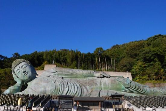Reclining Buddha statue at Nanzoin