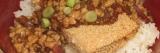 Monthly Recipe: Vegetarian Katsudon(ベジタリアンカツ丼)
