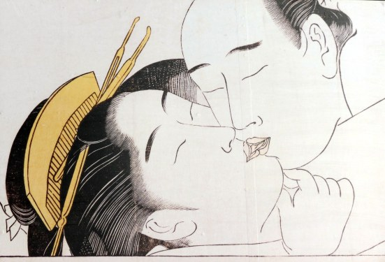 Shunga: Sode no maki (Handscroll for the sleeve) by Torii Kiyonaga