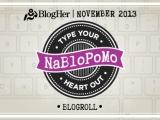 NaBloPoMo – November2013