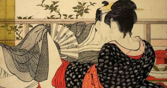 Utamakura (Poem of the Pillow) by Kitagawa Utamaro, 1788