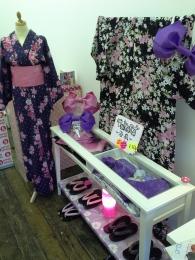 Traditional Japanese robes (Yukata)