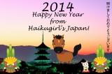 Happy New Year from Haikugirl's Japan!