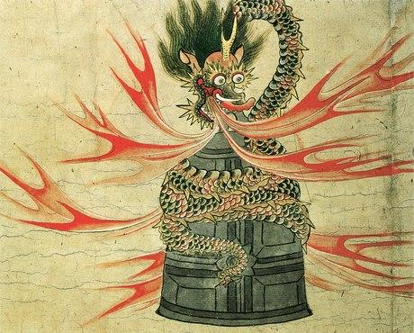 Dōjō-ji Engi emaki (Muromachi period); Important Cultural Property
