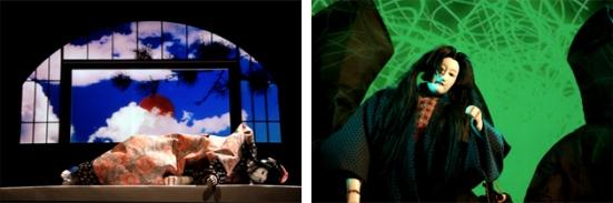 VOCALOID™ Opera AOI with Bunraku Puppets