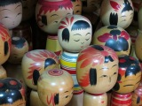 Postcard from Japan: Kokeshi