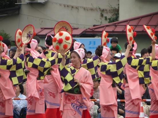 Yamagata Hanagasa Festival at Rokkonsai
