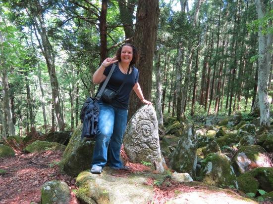 Me at Gohyaku Rakan in Tono