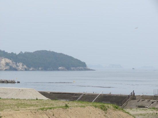 View from Shichigahama looking out towards Matsushima