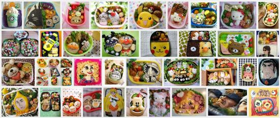 Google Images search for キャラ弁