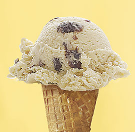 'Running raisin' ice cream, as I used to call it