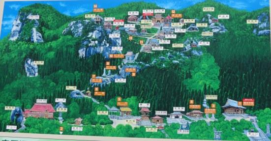Yamadera map