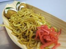 Takoyaki & yakisoba