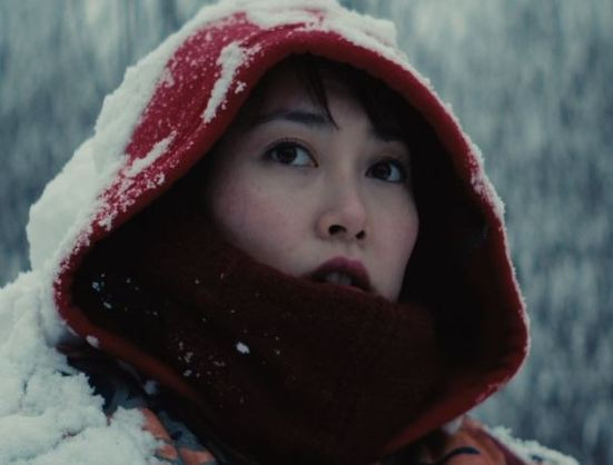 Snow-covered Kumiko