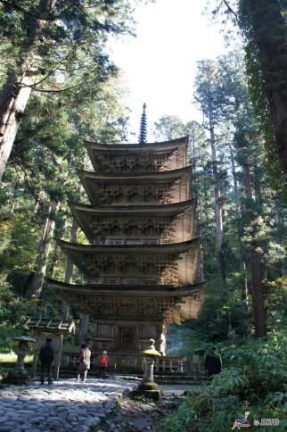 Mt. Haguro Five-story pagoda ©Daisuke Yatsui/©JNTO
