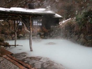 Rotenburo at Tsurunoyu