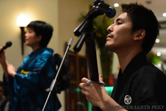 Akari & Hibiki at the FestivalAsia Press Launch © Spencer Lloyd Peet