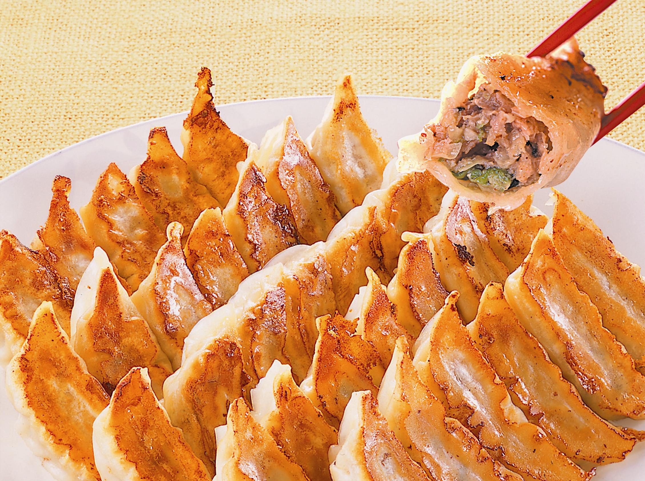 Гёдза японские пельмени рецепт пошагово