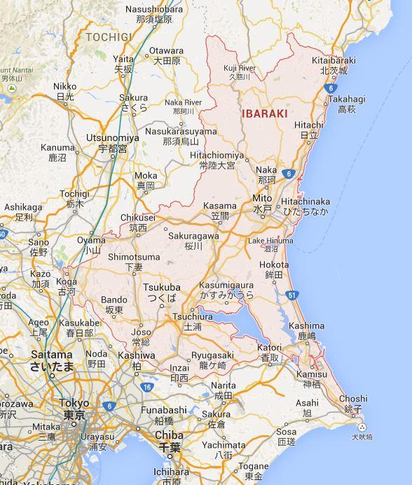 Ibaraki Japan Map.Japan By Prefecture Ibaraki 茨城県 Haikugirl S Japan