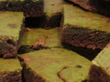 Monthly Recipe: Matcha Cheesecake Swirl BrownieBites